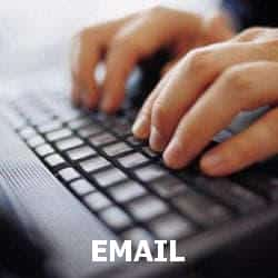 Online counselling via email.