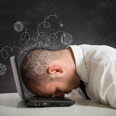 One of the symptoms of work related stress is feeling you can't do your job as well as you could.
