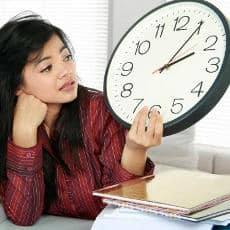 A common cause of stress is long and/or irregular hours.