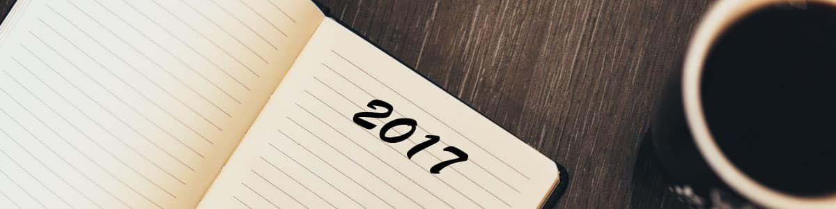 Writing new year's resolutions