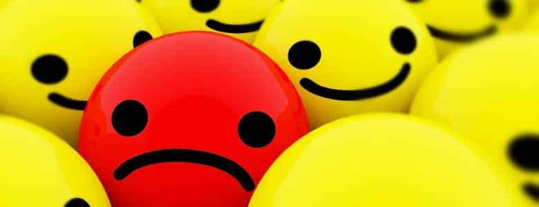 Depression, when you are SAD and alone.